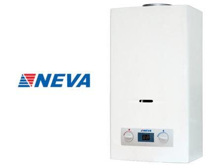 Установка газовых колонок Нева